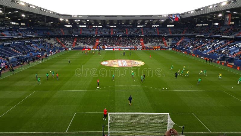 Estadio de Caen imágenes de archivo libres de regalías