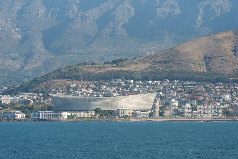 Estadio de Ciudad del Cabo, Cape Town, Suráfrica, África fotografía de archivo