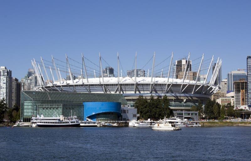 Estadio de fútbol de Vancouver imagen de archivo