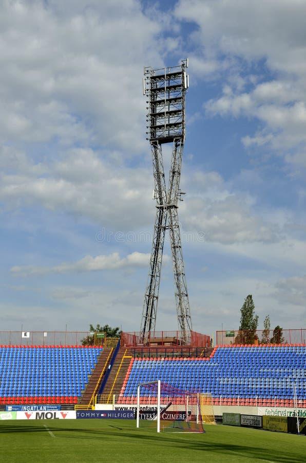 Estadio de fútbol de Videoton imagen de archivo
