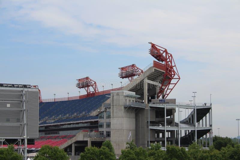Estadio de fútbol del campo de LP en Nashville foto de archivo libre de regalías