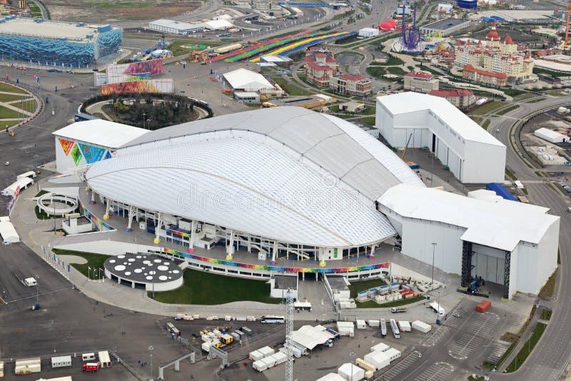 Estadio de Fisht Olimpic imágenes de archivo libres de regalías