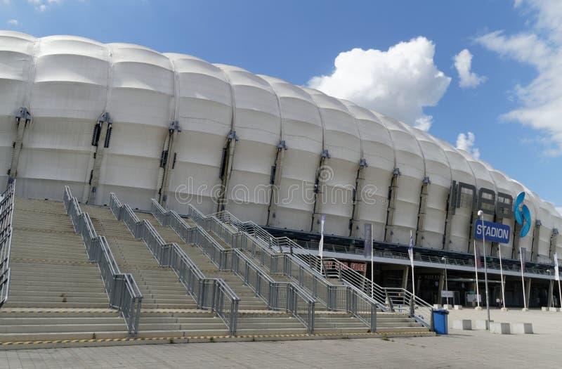 Estadio de Inea en Poznán imágenes de archivo libres de regalías