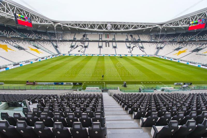 Estadio de Juventus fotografía de archivo