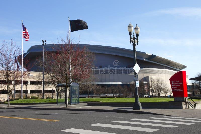 Estadio de la chaqueta, Portland O. fotografía de archivo