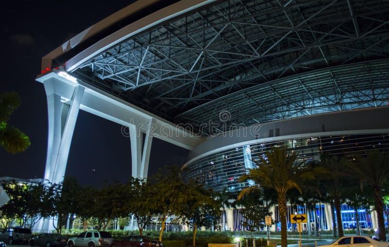Estadio de las agujas de Miami foto de archivo libre de regalías