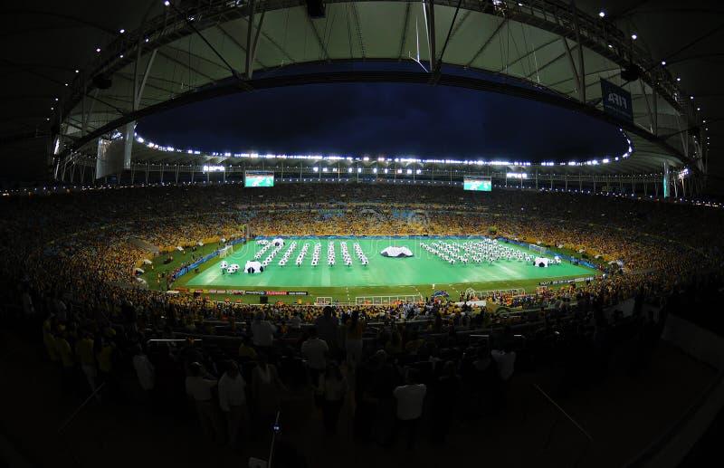 Estadio de Maracanã imágenes de archivo libres de regalías