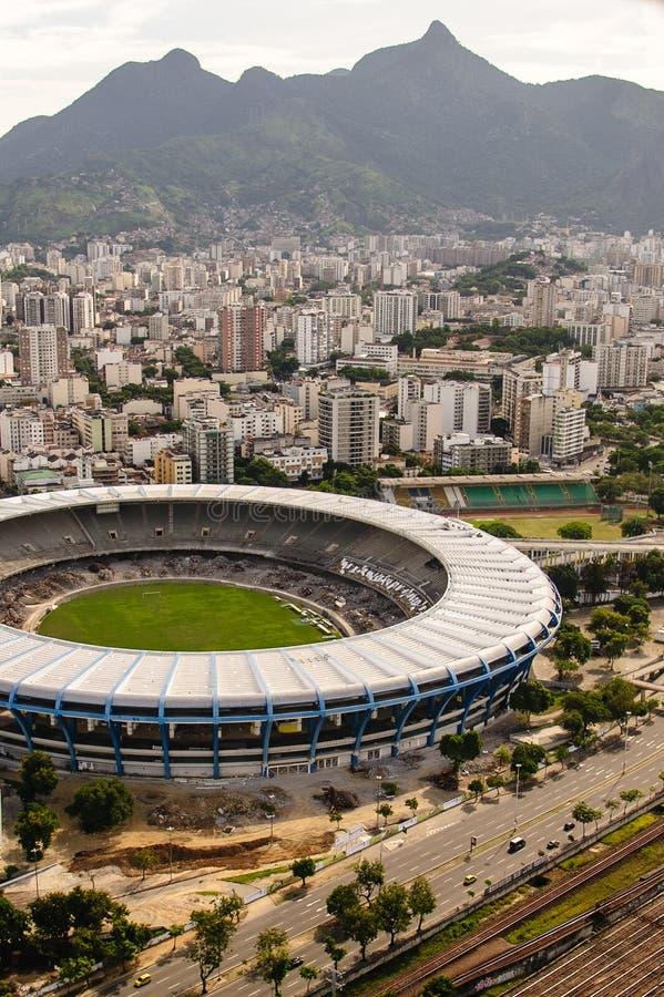 Estadio de Maracana imagen de archivo libre de regalías