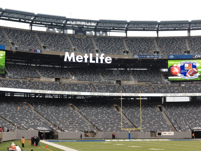 Estadio de MetLife - New York Jets Giants imagen de archivo libre de regalías
