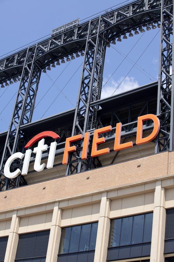 Estadio de Mets - Queens Nueva York foto de archivo libre de regalías
