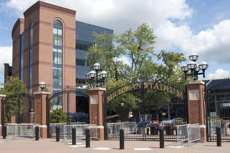 Estadio de Michigan - la casa grande fotos de archivo libres de regalías