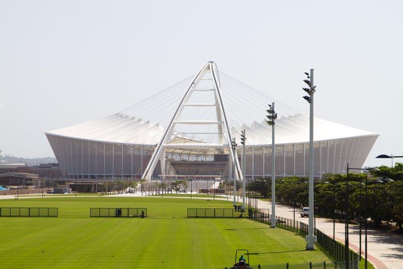 Estadio de Moses Mabhida fotos de archivo libres de regalías