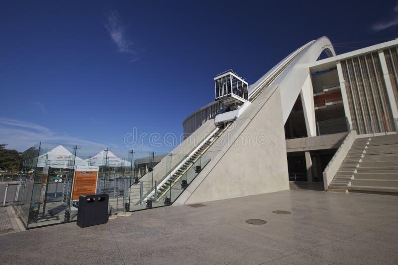 Estadio de Moses Mabhida de Durban 2010, Suráfrica imagen de archivo libre de regalías
