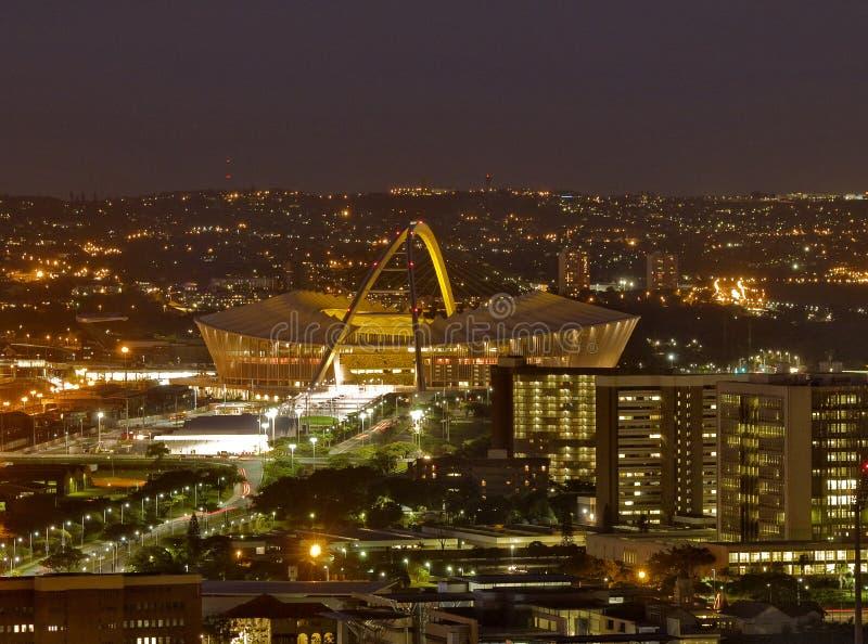 Estadio de Moses Mabhida, Durban, Suráfrica fotografía de archivo libre de regalías