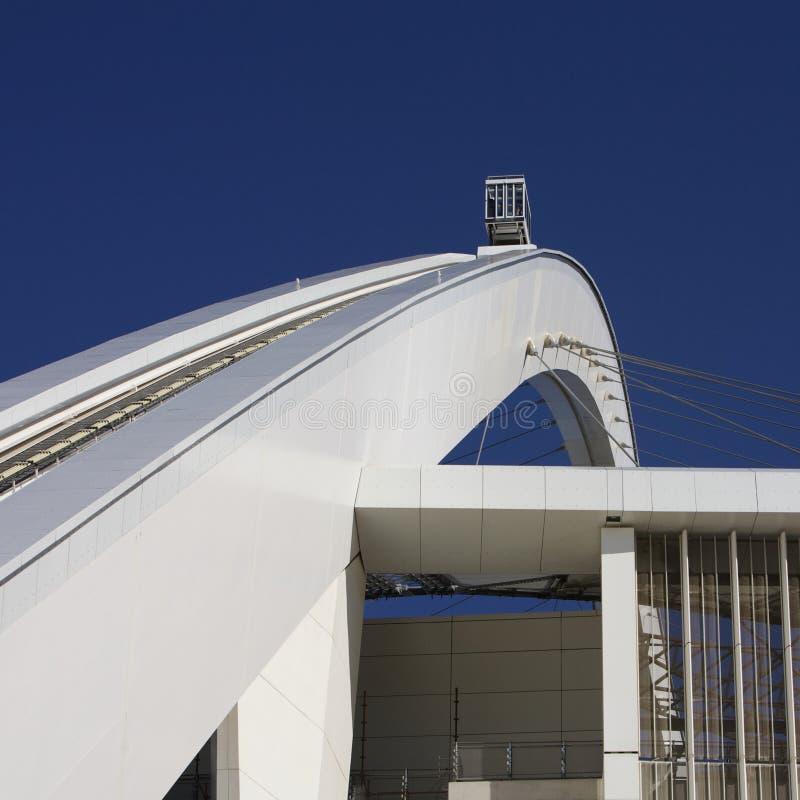 Estadio de Moses Mabhida, la FIFA, taza de mundo 2010 imágenes de archivo libres de regalías