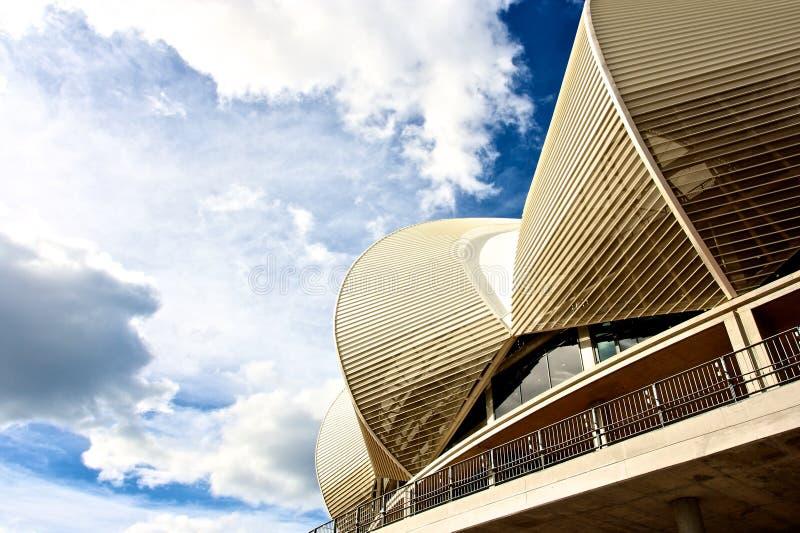 Estadio de Port Elizabeth, Suráfrica fotografía de archivo