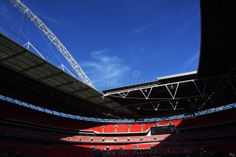 Estadio de Wembley imagen de archivo