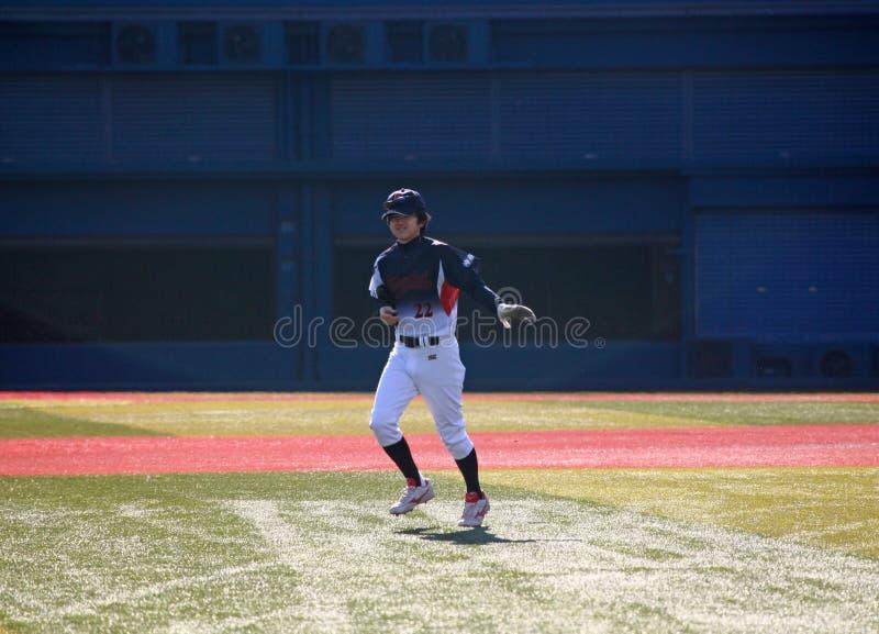 Estadio de Yokohama Basball foto de archivo libre de regalías