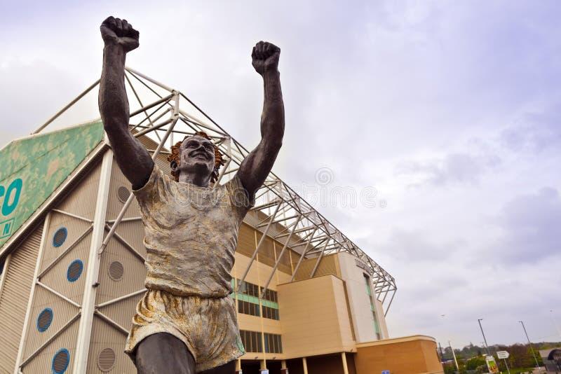 Estadio del camino de Elland en Leeds, West Yorkshire imagen de archivo