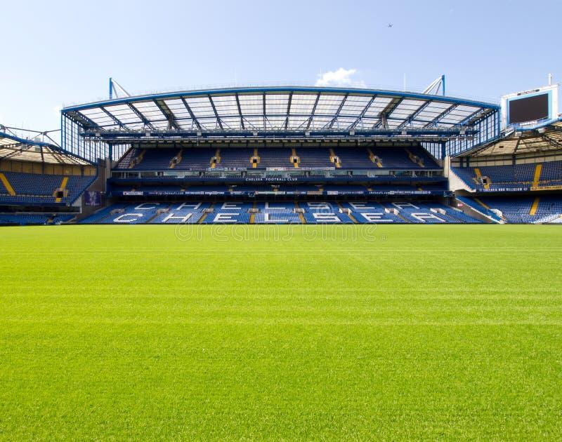 Estadio del puente de Chelsea Stamford imagen de archivo