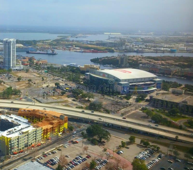 Estadio del relámpago de Tampa foto de archivo