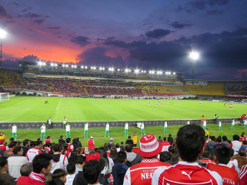 Estadio El Campin royaltyfria bilder