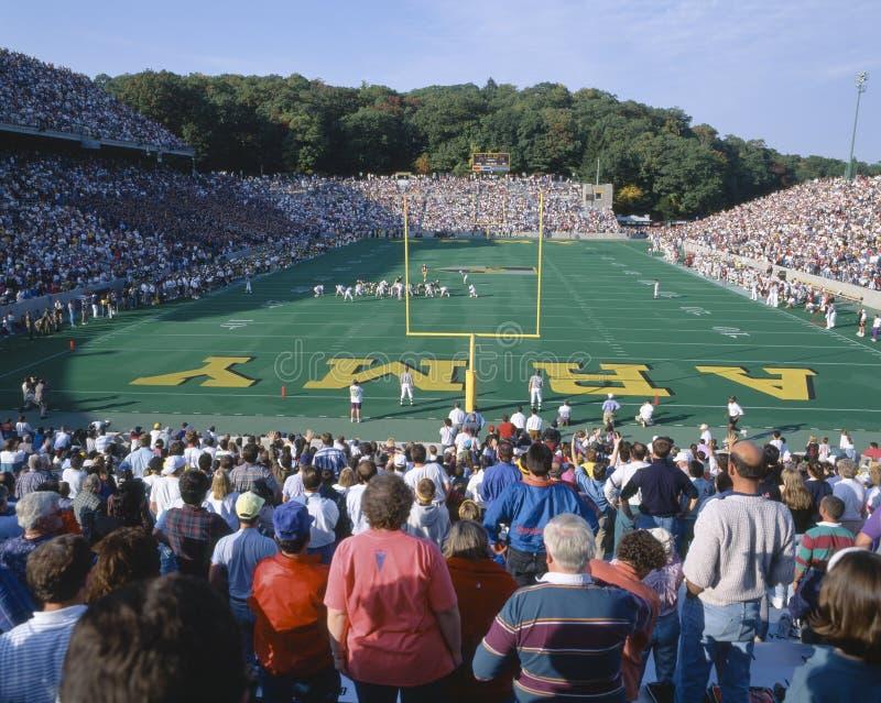 Estadio en West Point, ejército de Michael v Lafayette, Nueva York foto de archivo libre de regalías