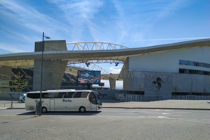 Estadio faz Dragao/Dragon Stadium em Porto, Portugal fotografia de stock