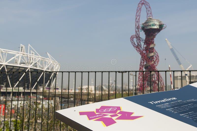 Estadio Olímpico Imagen de archivo editorial