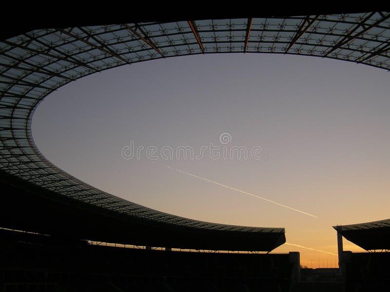 Estadio olímpico de Berlín fotos de archivo