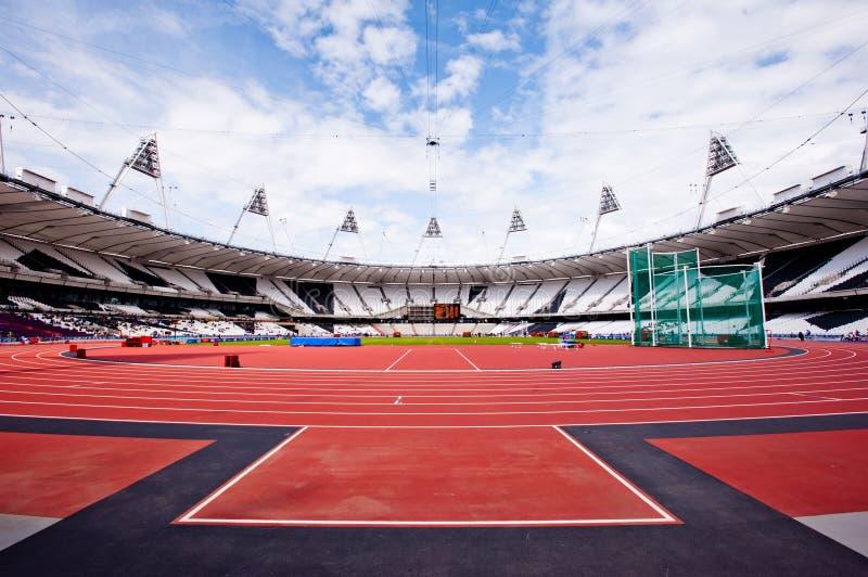 Estadio olímpico de Londres 2012 fotos de archivo