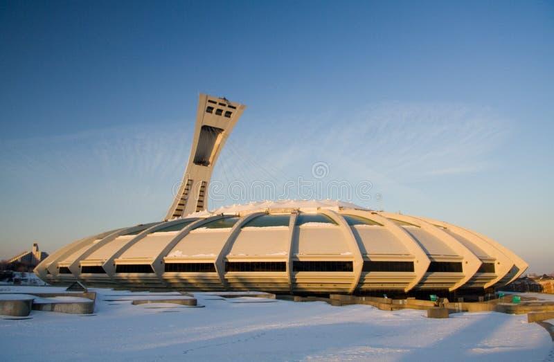Estadio olímpico de Montreal foto de archivo