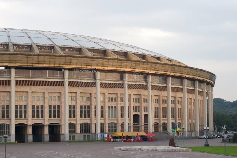 Estadio olímpico de Moscú fotografía de archivo libre de regalías
