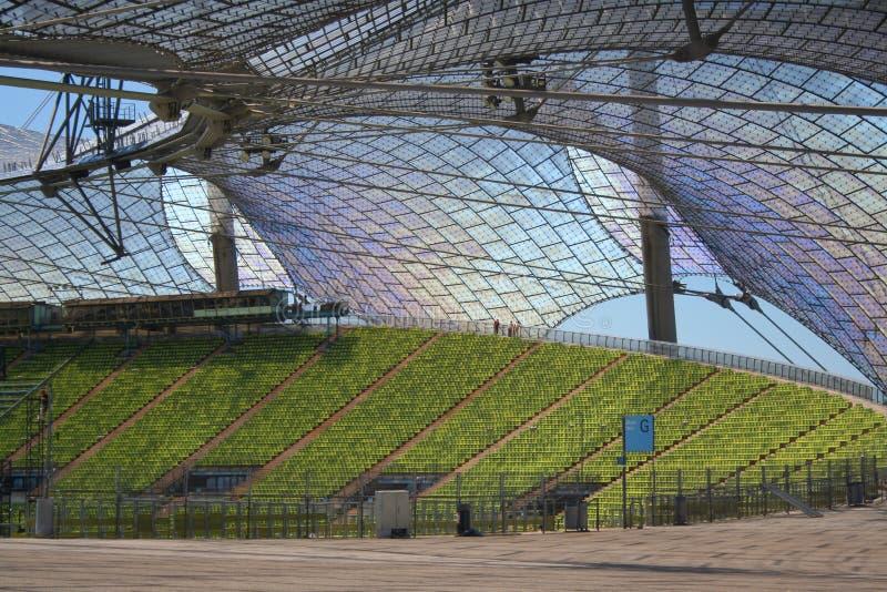 Estadio olímpico de Munich fotos de archivo libres de regalías