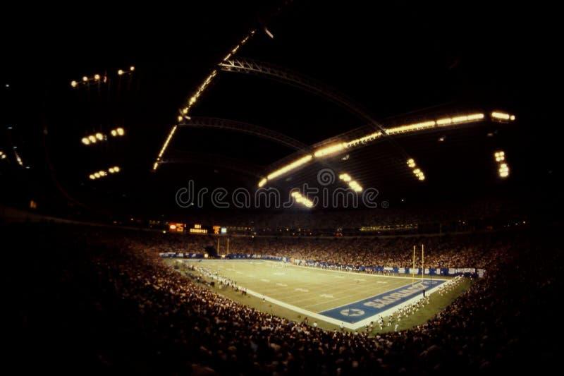 Estadio viejo de Tejas, Irving Tejas foto de archivo