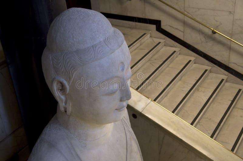 Estado da Buda no museu britânico fotos de stock