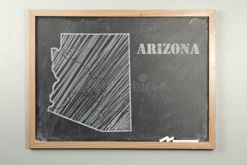 Estado de Arizona imagen de archivo libre de regalías