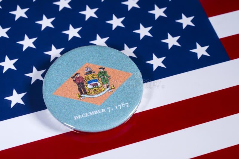 Estado de Delaware en los E.E.U.U. fotografía de archivo libre de regalías