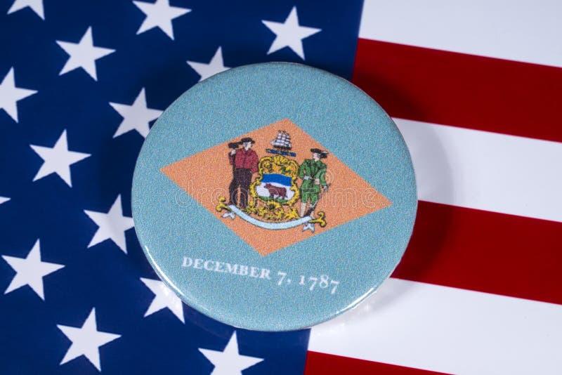 Estado de Delaware en los E.E.U.U. fotografía de archivo