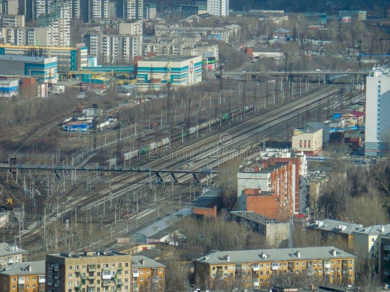 Estado de Ekaterimburgo Ural de Rusia fotos de archivo libres de regalías
