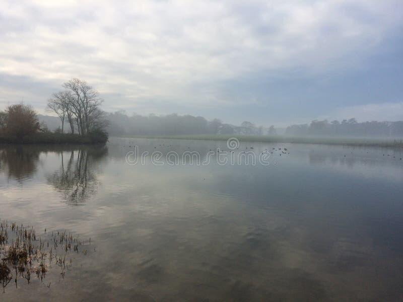 Estado de Holkham en la niebla 1 imagen de archivo libre de regalías
