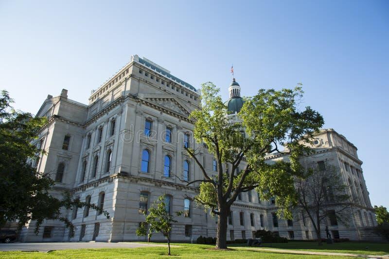 Estado de Indiana Capitol Building imagem de stock
