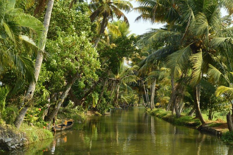 Estado de Kerala en la India fotos de archivo libres de regalías