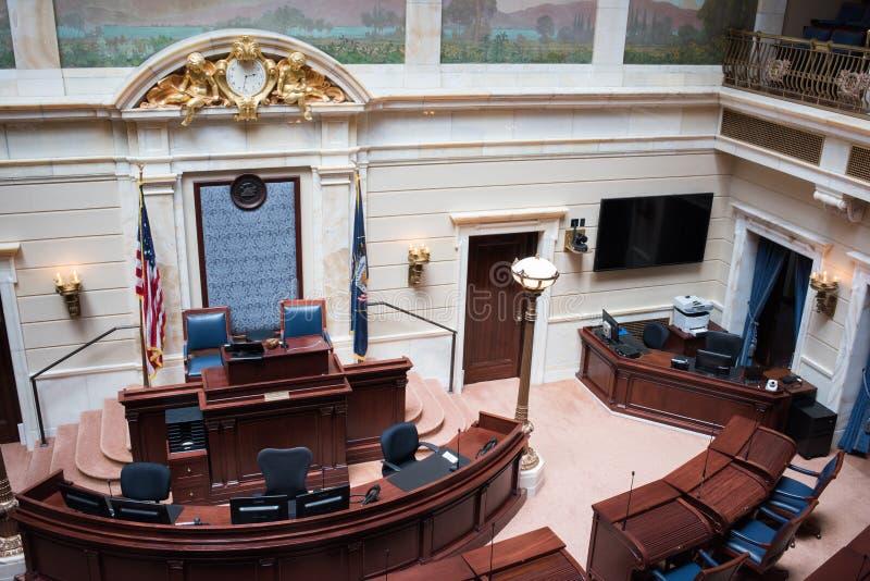 Estado de la cámara de Utah de representantes fotografía de archivo