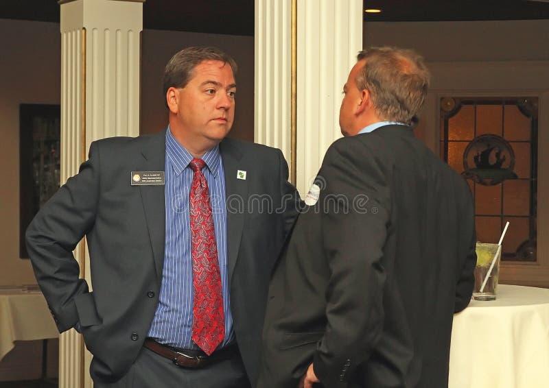 Estado de la lechigada de puercos de Paul del candidato 33ro Dist del senado de los WI foto de archivo libre de regalías