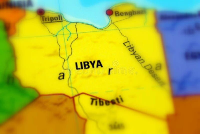 Estado de Libia imagen de archivo