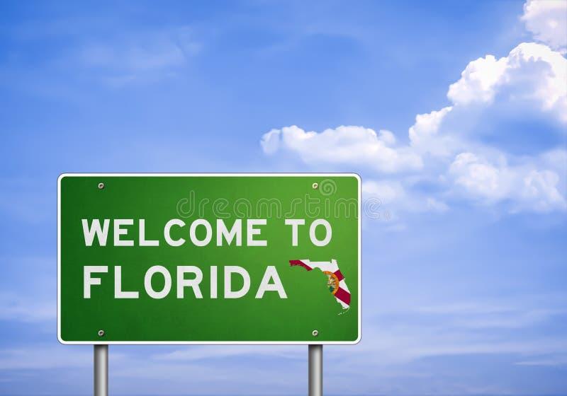 Estado de los E.E.U.U. de la Florida stock de ilustración