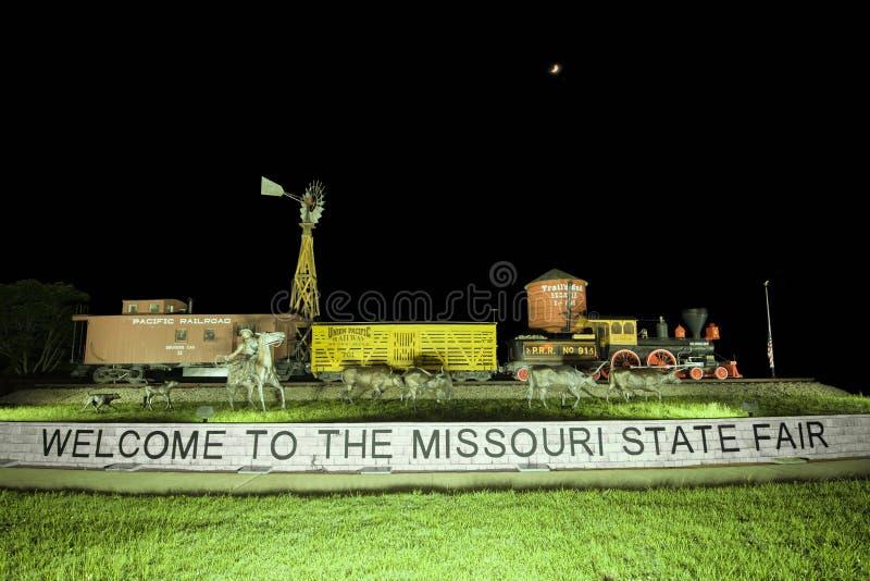 Estado de Missouri justo fotos de archivo