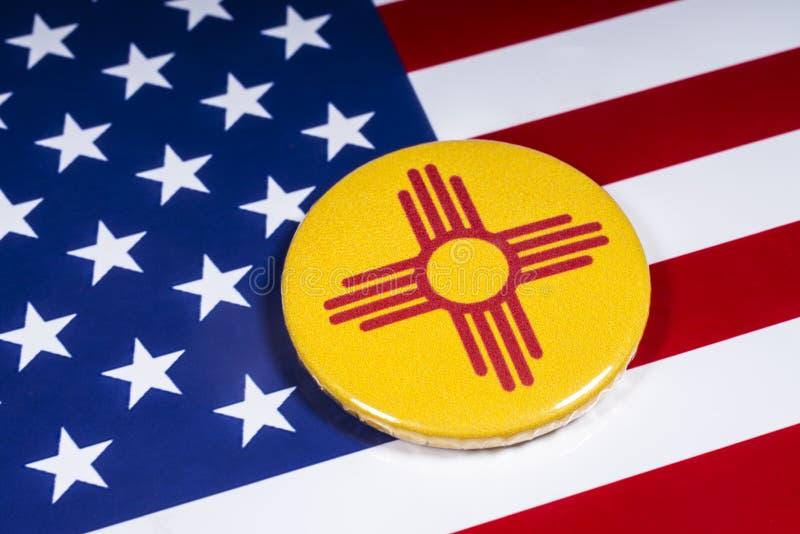 Estado de New México en los E.E.U.U. imagenes de archivo