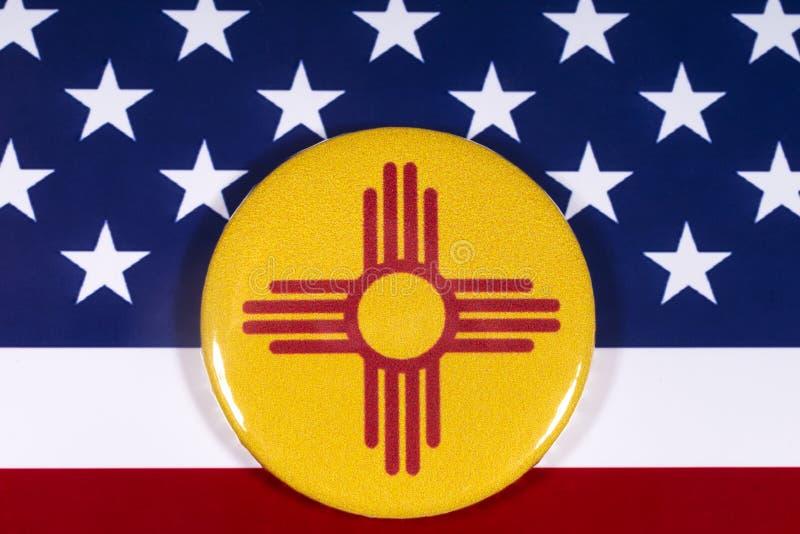 Estado de New México en los E.E.U.U. foto de archivo